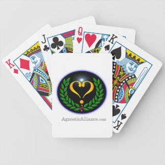 Agnostic Alliance - Playing Cards (White)