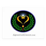 Agnostic Alliance - Postcard (landscape)