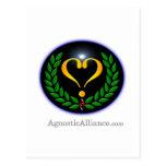Agnostic Alliance - Postcard (portrait)