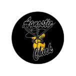 Agnostic Chick #4 Wallclocks