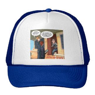 Agnostic Missionaries Funny Mesh Hats
