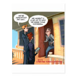 Agnostic Missionaries Funny Post Cards