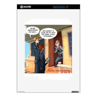 Agnostic Missionaries Funny Skin For iPad 2