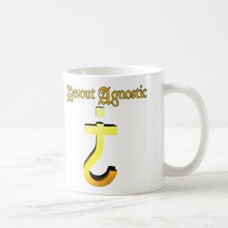 Agnóstico devoto taza