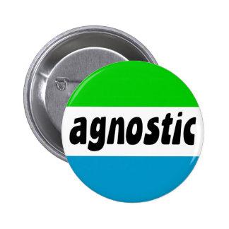 agnóstico pin redondo de 2 pulgadas