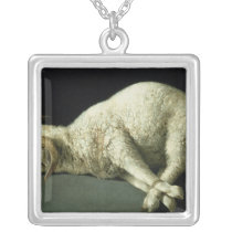 Agnus Dei, c.1635-40 Silver Plated Necklace