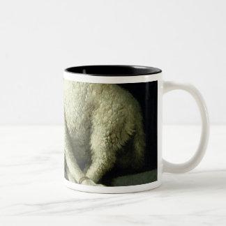 Agnus Dei, c.1635-40 Two-Tone Coffee Mug