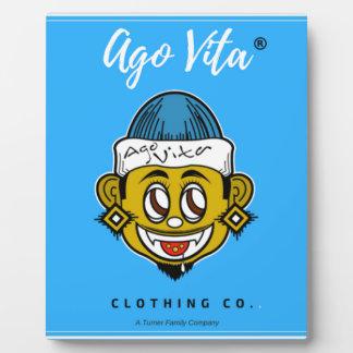 Ago Vita Clothing Brand Plaque