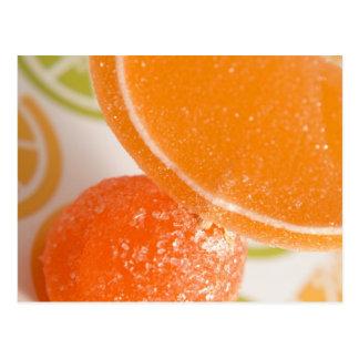 agolpamiento anaranjado tarjeta postal
