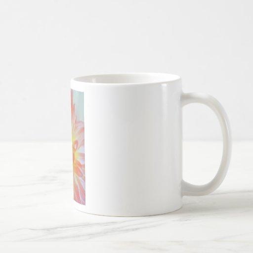 Agolpamiento del melocotón taza de café