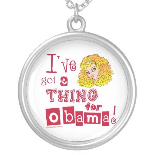 Agolpamiento en el collar de Obama