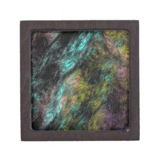 Agolpamiento oscuro cajas de joyas de calidad