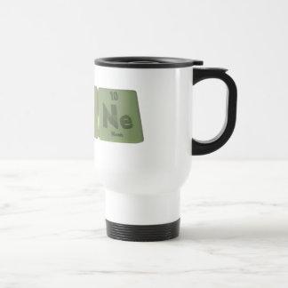 Agone-Ag-O-Ne-Silver-Oxygen-Neon Travel Mug