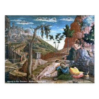 Agonía de Andrea Mantegna en el jardín Postales