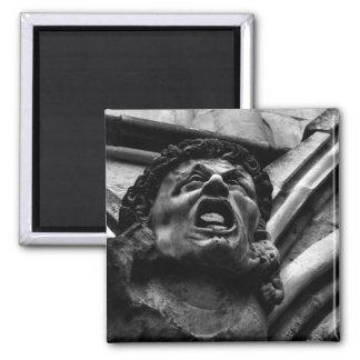 Agonía del Gargoyle gótico de los Imps penetrantes Imán Cuadrado