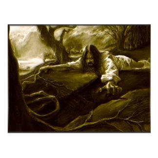 Agonía del Jesucristo en el jardín de Gethsemane Postales