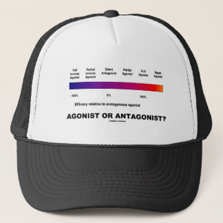 Agonist Or Antagonist?  (Efficacy Spectrum) Trucker Hat