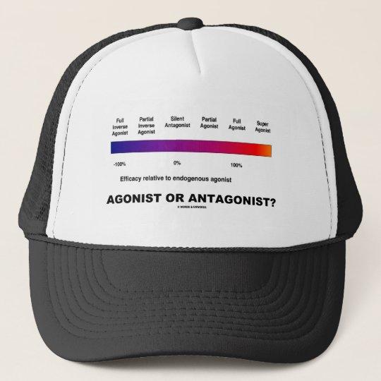 Agonist Or Antagonist?  (Efficacy Spectrum) Trucker Hat