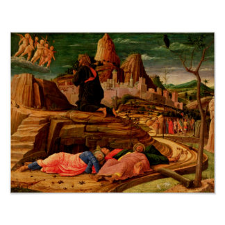 Agony in the Garden, c.1460 Poster