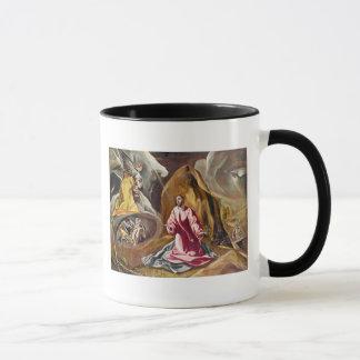 Agony in the Garden of Gethsemane, c.1590's Mug