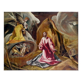 Agony in the Garden of Gethsemane, c.1590's Poster