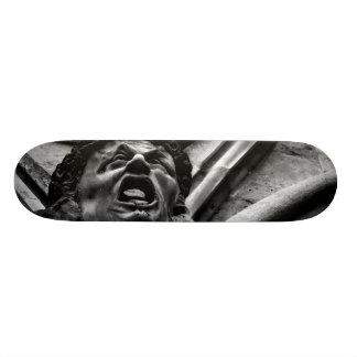 Agony of the Biting Imps Gothic Gargoyle Skateboard