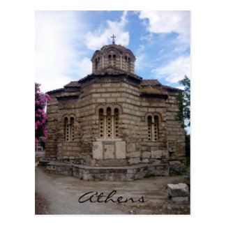 agora holy church postcard