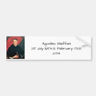 Agostino Steffani, c1714 Bumper Sticker