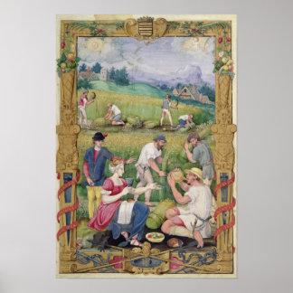 Agosto: La cosecha Póster