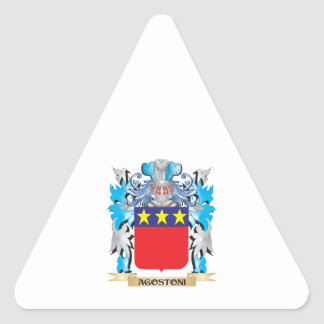 Agostoni Coat Of Arms Stickers