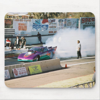 Agotamiento Mousepad del Corvette Alfombrilla De Raton