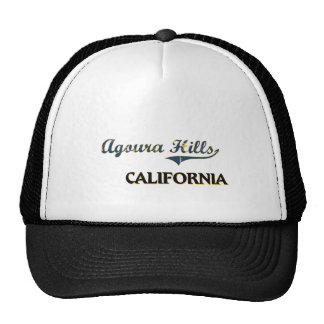 Agoura Hills California City Classic Hats