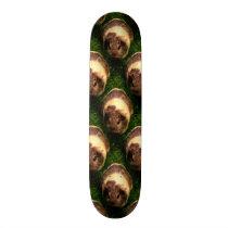 Agouti Guinea Pig in the Grass Skateboard