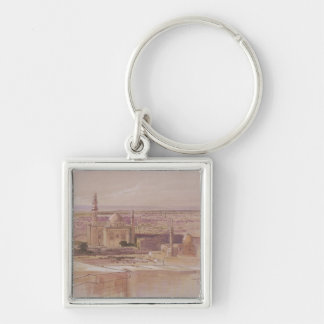 Agra Mosque, Cairo, 1849 Keychain