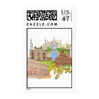 Agra Postage