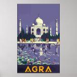 Agra, Vintage Poster