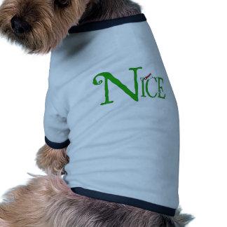 Agradable para el navidad camisas de perritos