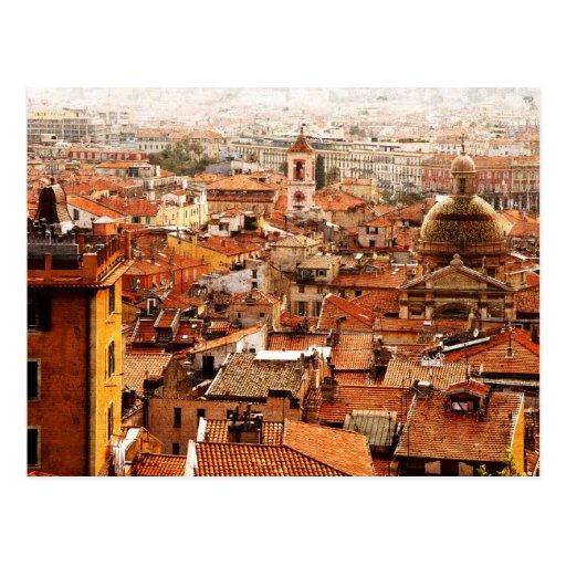 Agradable, postal de Cote d'Azur