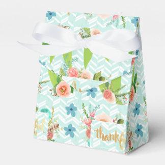 agradecida, oro, tipografía, moderno, femenino, caja para regalos de fiestas
