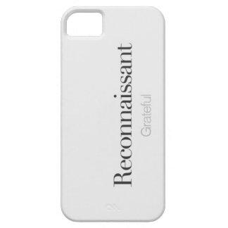 Agradecido iPhone 5 Carcasa