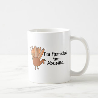 Agradecido para Abuelito Tazas De Café