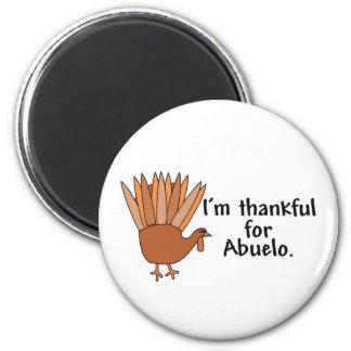 Agradecido para Abuelo Imán
