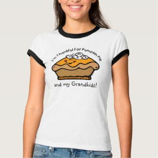 Agradecido para la camiseta del personalizado de