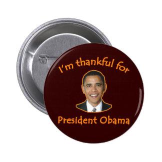 Agradecido para presidente Obama T-shirts, tazas Pins