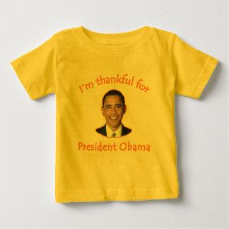 Agradecido para presidente Obama T-shirts, tazas Playeras