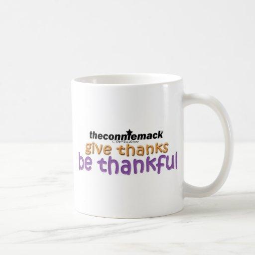 agradecido taza