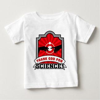 ¡Agradezca a dios por ciencia! Playeras