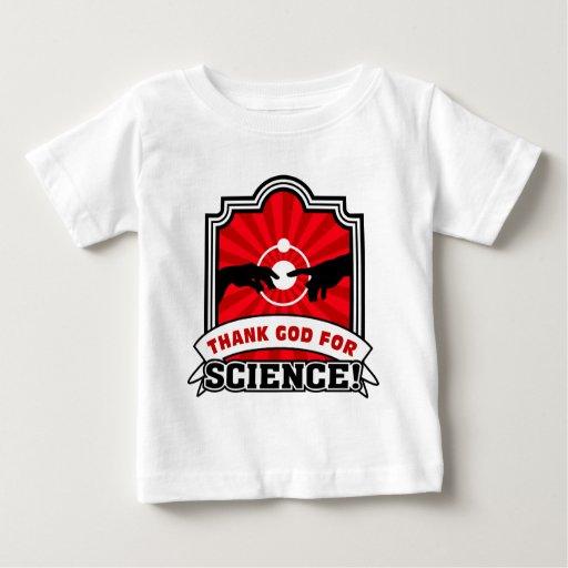 ¡Agradezca a dios por ciencia! T-shirts