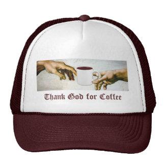 Agradezca a dios por el café gorro