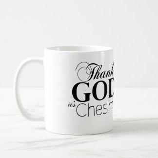 Agradezca a dios que es taza de Cheshvan